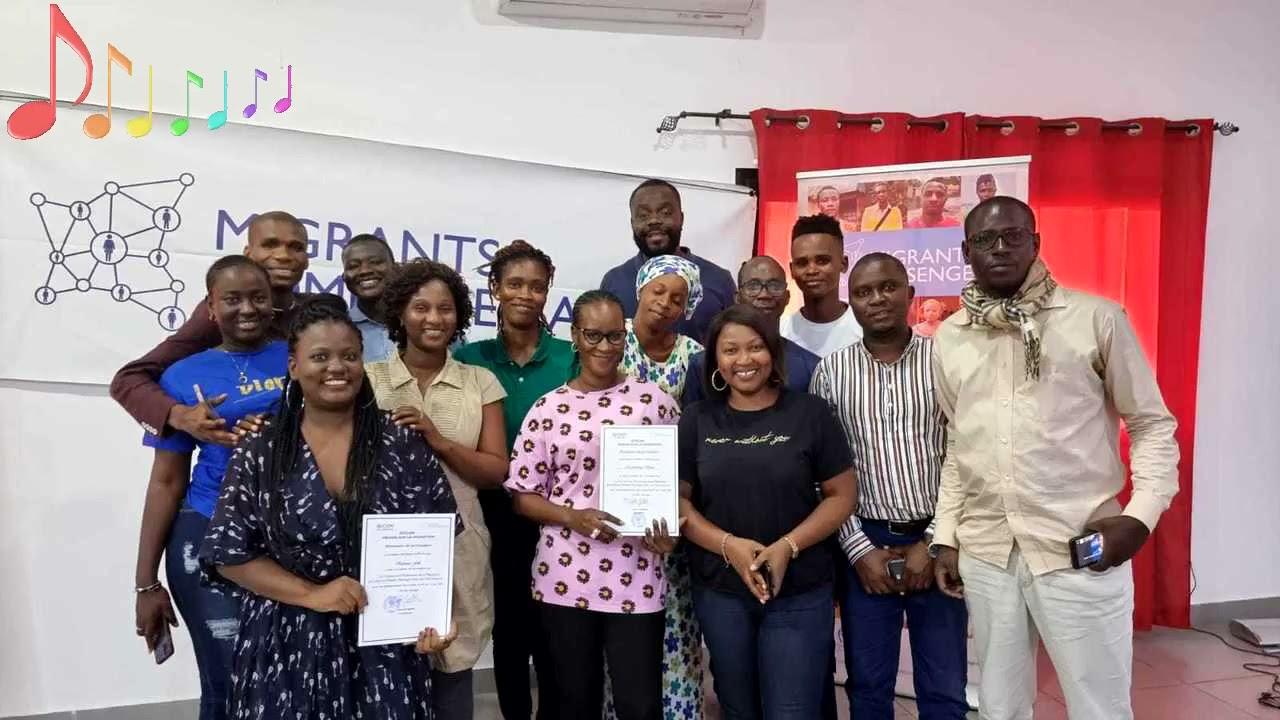 Entretien avec Fecame Marie Seye responsable media et communication de l'OIM ,bureau senegal .