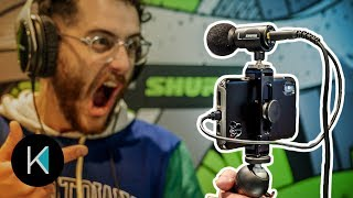 HIGHEST QUALITY MIC FOR SMARTPHONES - Shure MV88+ Video Kit CES 2019 First Look!