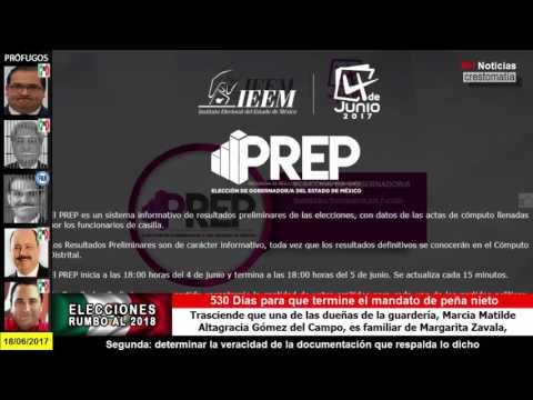 IEEM difunde cómputo oficial de elección de gobernador en Edomex