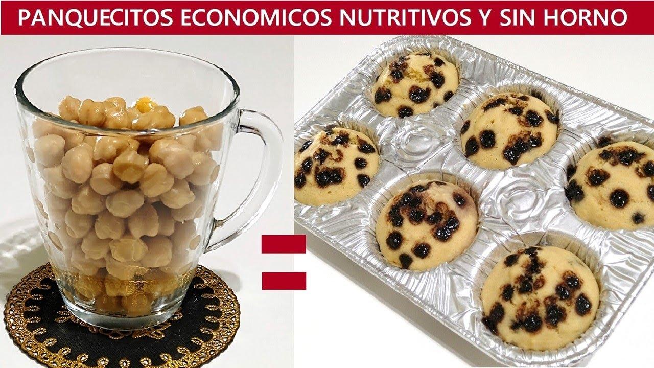 1 TAZA DE GARBANZOS + 15 MIN DE COCCION ¡INCREIBLE!