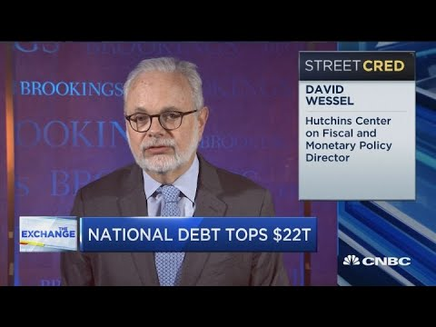 With Low Interest Rates, Pressure Of National Debt Goes Away: Brookings Institution's Wessel