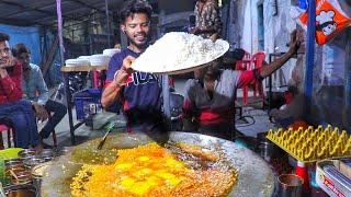 World's Biggest Scrambled Egg Rice | Egg Pulao For 42 Families| Egg Street Food | Indian Street Food