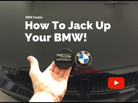How To Properly Jack Up Your BMW!