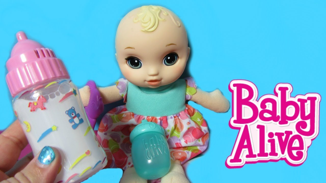 New Baby Alive Lil Slumbers Unboxing New Magic Bottle