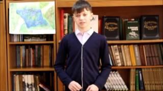 """Рудаков Илья читает отрывок из рассказа В.Г. Распутина """"Век живи - век люби"""""""