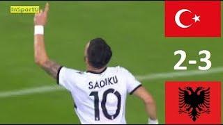 Turkey vs Albania 2-3  - All Goals & Highlights - 13.11.2017