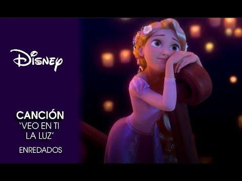 Enredados Canción Veo En Ti La Luz Disney Oficial Youtube