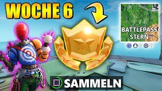 Woche 6 ⭐ Geheimer Battlepass Stern | Fortnite Season 10 Deutsch