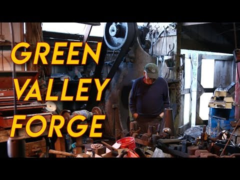 Shop Tour: Cy Swan's Green Valley Forge