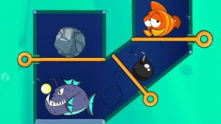 save the fish game pull the pin game /games / fishdom screenshot 2
