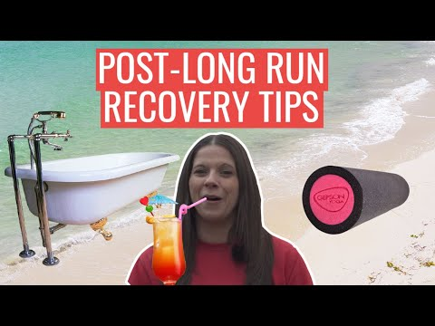 Recovery Tips For After A Long Run | Marathon Training Recovery Ideas
