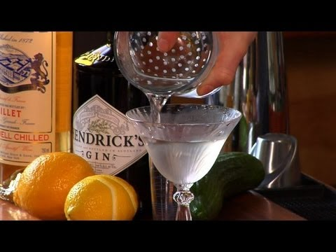 Martini - How to Stir a Cocktail - The Proper Pour with Charlotte Voisey - Small Screen
