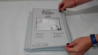 Пододеяльник 200х220 Lotus Отель - Сатин Страйп 1*1 серый - обзор