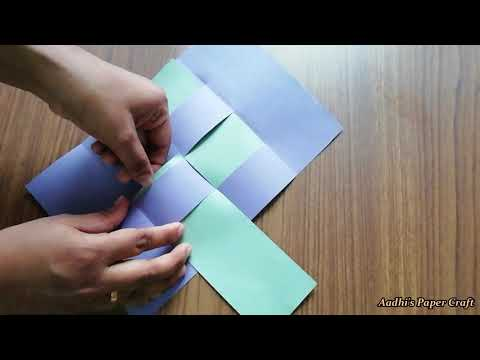 DIY- Secret message card / Magic card
