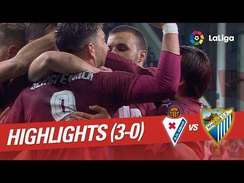 Resumen de SD Eibar vs Málaga CF (3-0)
