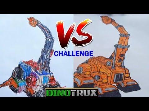 Dinazor Makineler Boyama Sayfası Anne Oğul Meydan Okuması Dinotrux