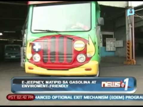 News@1: In Ka Na Ba?: E-Jeepney, matipid sa gasolina at environment-friendly