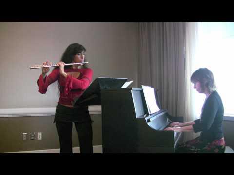 Viviana Guzman, flute, Chilean Tango by Pablo Paredes