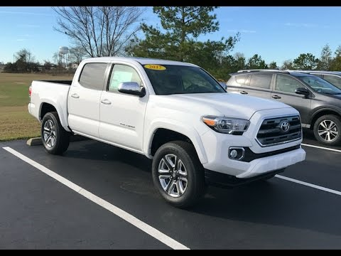2017 Toyota Tacoma Limited 4x4 Doublecab Full Tour Start Up At Mey