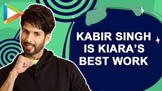 Shahid Kapoor On Meera's  Feelings about  Kabir Singh| I Shouldn't bring Character Home