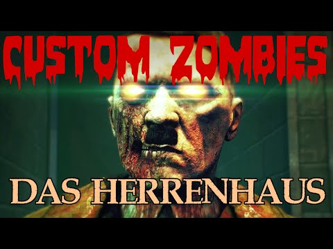 Call of Duty Custom Zombies: Das Herrenhaus ★ Part Two ★ Soul Chests, Head Jars and Switches
