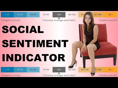 Social Sentiment Indicator: Try this stock market indicator...