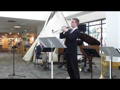 Nathan Dickson playing Fantasy for Trumpet, Op. 100 by Malcolm Arnold