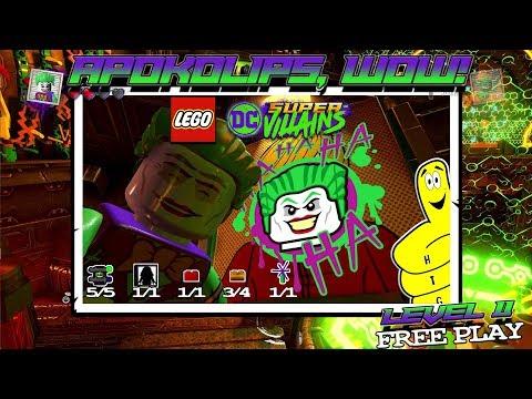 Lego DC Super-Villains: Level 11 / Apokolips, Wow! FREE PLAY (All Collectibles) - HTG