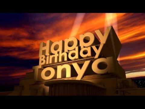 Happy Birthday Tonya Youtube