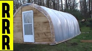 HOW TO MAKE A GREENHOUSE | HOMESTEADING GREEN HOUSE PLANS | Do It Yourself