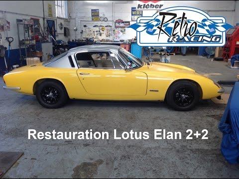 Restauration Lotus Elan 2+2