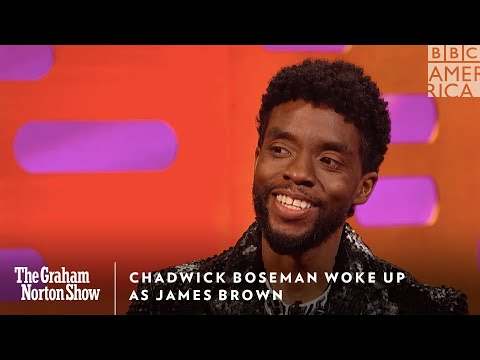 Chadwick Boseman Woke Up As James Brown | The Graham Norton Show | Friday @ 11pm | BBC America