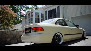 Corey's Stanced EK Coupe - A Day In The Life..