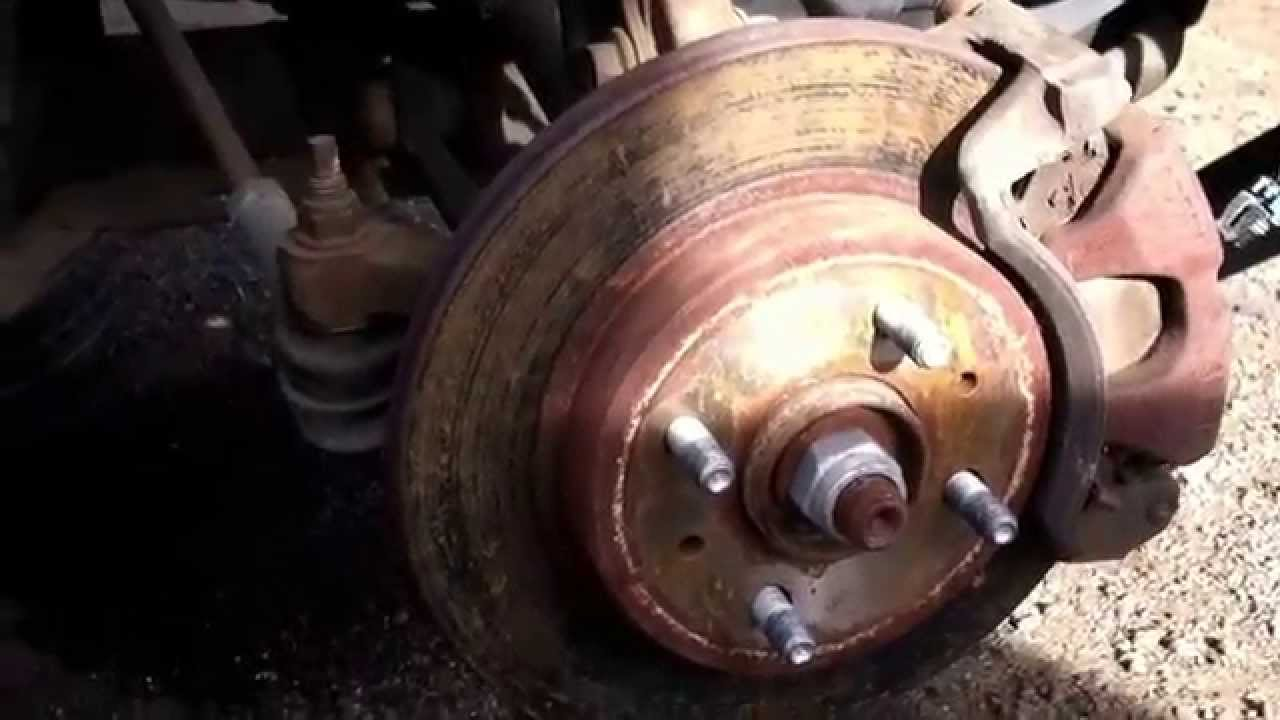Saturn       S       Series    Front Brake Replacement 20002002  YouTube