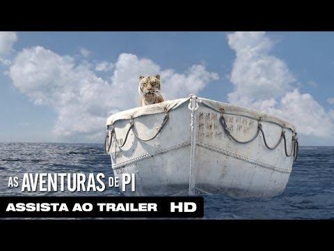Trailer do filme As Aventuras de Pi