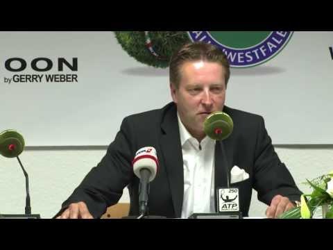 Gerry Weber Open 2013 Abschlusspressekonferenz Ralf Weber