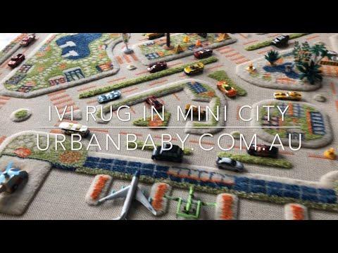 IVI Interactive Play Rug in Mini City