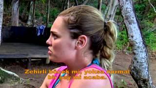 Survivor 1.bölüm Müge'yi arılar sokmuş