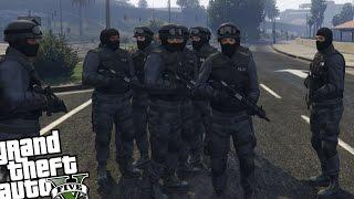 GTA 5 PC S.W.A.T Police MOD - S.W.A.T TEAM VS CRAZY RIOT MOD (Grand Theft Auto 5 S.W.A.T MOD)