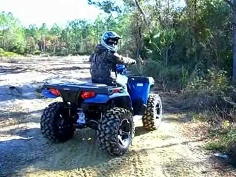 My New 2012 Polaris Sportsman 400HO - YouTube