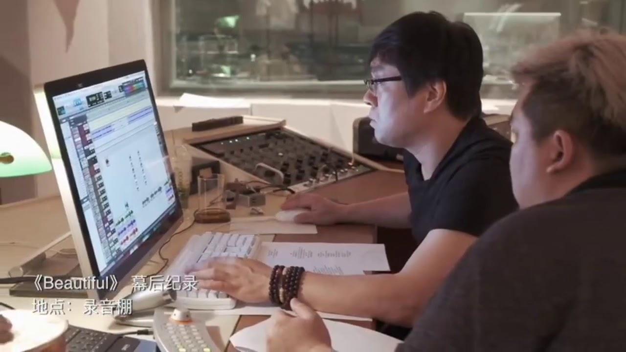 """[Vietsub] Vương Tuấn Khải thu âm ca khúc """"Beautiful""""  Studio Weibo 16.8.2020"""