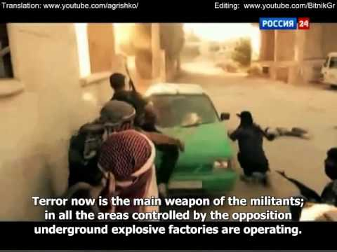 Battle For Syria  View from the Frontline! English subtitles)