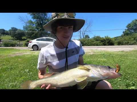 Fishing At Lake Mohawk