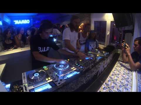 David Guetta & Martin Garrix @ Café Mambo's GOPROS