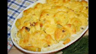Картофель с беконом рецепт