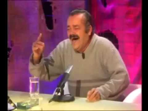 Funniest TV Show ever ! Crazy laughing with old spanish guy - YouTube