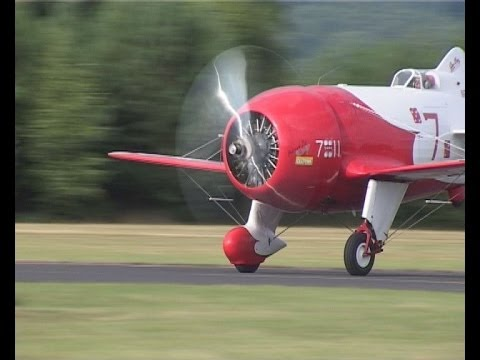 Delmar Benjamin Flying His GeeBee Part 2 After near Crash