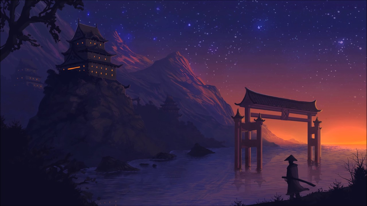 Anime 4k Wallpaper: 22 Nights In Asia Mix