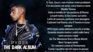 Dark Polo Gang - Latte di Suocera ft. Gianni Bismark con TESTO / LYRICS ● Pyrex - The Dark Album