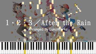 1・2・3/After the Rain(そらる×まふまふ)- ポケットモンスターOP [Piano Arrangement]